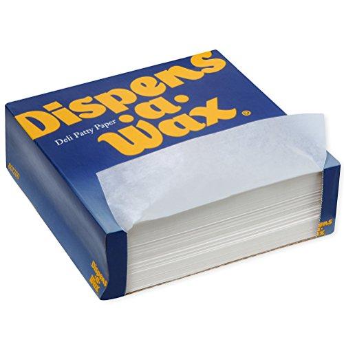 Dispens-A-Wax Deli Patty Paper by GP PRO (Georgia-Pacific), White, 434, 5