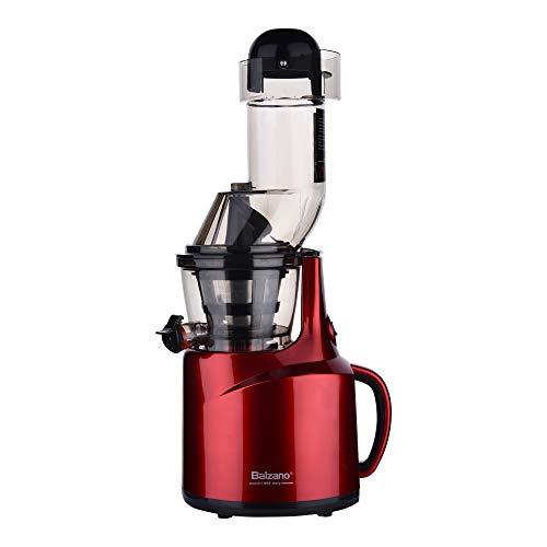 Balzano LDDC-1507 150-Watt Cold Press Slow Juicer (Red)
