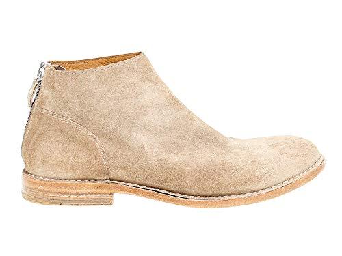 MOMA Herren 14803 Beige Wildleder Desert Boots