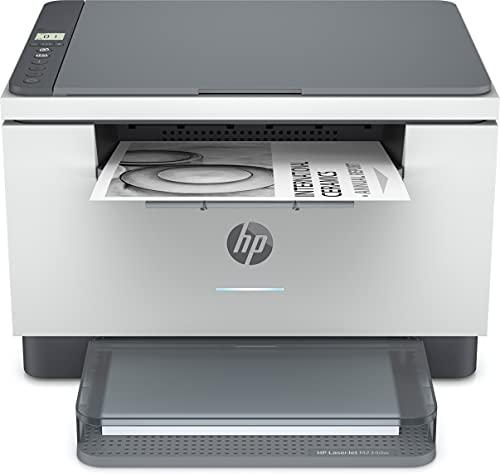 HP LaserJet MFP M234dw 6GW99F, Impresora Láser Multifunción, Imprime, Escanea, Copia, Wi-Fi, Fast Ethernet, USB 2.0, HP Smart App, Panel de control con botones LED, Blanca y Gris
