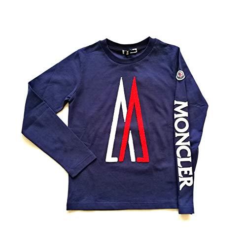 Moncler Junior T-Shirt T-Shirt Kinder 8022550 Blau, Blau 8 Jahre