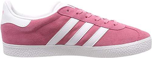 adidas Unisex Kinder Gazelle J Lauflernschuhe Sneakers, Rose, 6UK Child