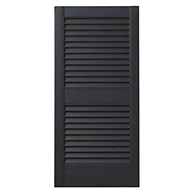 Ply Gem Shutters and Accents VINLV1525 11 Louvered Shutter-P