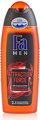 FA MEN 2in1 Duschgel Attraction Force mit Pheromonen und verführerischen Duft, 1er Pack (1 x 250 ml)