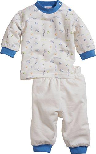 Schnizler Baby-Jungen Interlock 2-teilig Maus Zweiteiliger Schlafanzug, Blau (blau 7), 92
