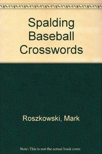 Spalding Baseball Crosswords