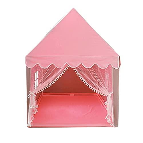 LZL Tienda Playera Interior Tienda de campaña Play Play Tent Fairy Tale Teepee Camping Camping Napping Teepee Tiendas de campaña (Color : Pink)