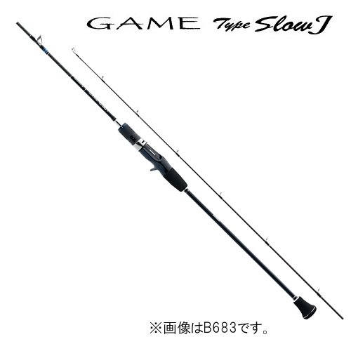 シマノ(SHIMANO) ジギングロッド ゲーム タイプ スローJ B682 スローピッチジャーク専用モデル ライトジギングから根魚まで