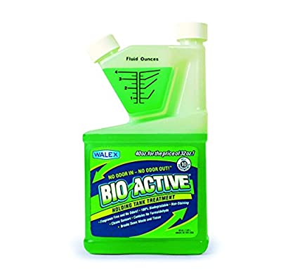 Walex Bio-Active Holding Tank Deodorizer in Tip and Pour Bottle