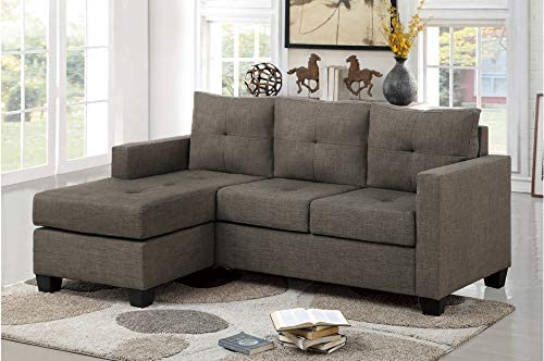Esofastore Contemporary Living Limited time for free shipping Room Furniture Reversi Latest item Brown Gray