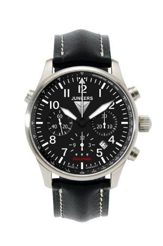 Junkers Herren-Uhren Analog Automatik. Gangreserve ca. 48 Std. One Size Leder 86051109
