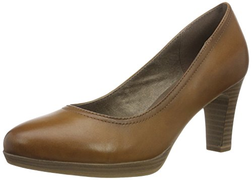 Tamaris Damen 22410 Pumps, Braun (NUT Antic 420), 40 EU