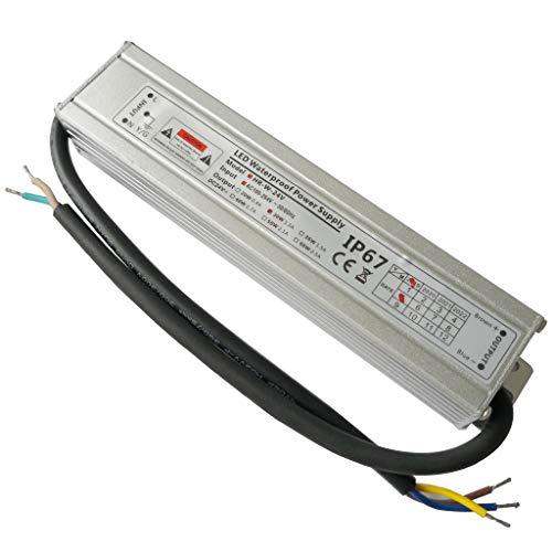 YAYZA! 1-Paquete Controlador de LED Compacto Ultra-fino A Prueba de Agua IP67 24V 1.25A 30W de Bajo Voltaje Módulo Transformador Universal Adaptador Suministro Eléctrico AC DC Exteriores