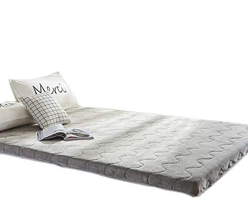 WYBF Pieghevole Materasso Tatami stuoie Multiuso Addensare Mantieni Caldo Materasso Bed Ground Materasso Letto futon Materasso Matrimoniale Singolo Dormitori Campeggio