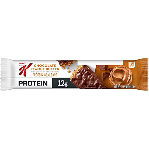 Kellogg's Special K Protein Bars, Chocolate Peanut Butter, School and Office Snacks, Meal Replacement (20 Bars)