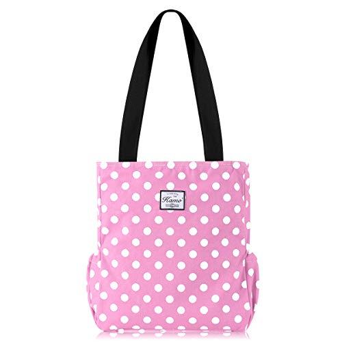 Kamo Canvas Tote Bag - Shoulder Bag Stylish Shopping Casual Bag Foldaway Travel Bag Handbags for Women Lady Girl Teens