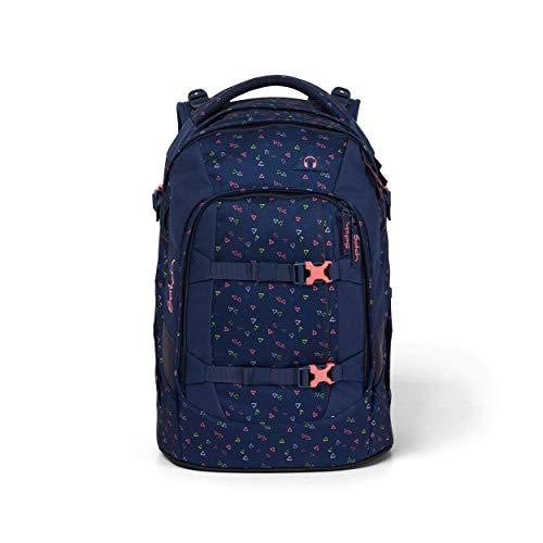 satch Pack Funky Friday, ergonomischer Schulrucksack, 30 Liter, Organisationstalent, Blau