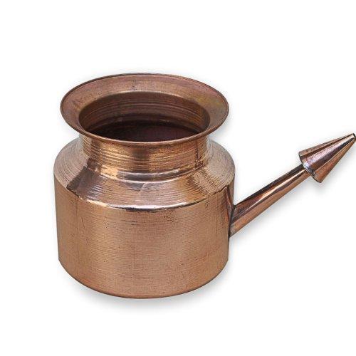 Neti Pot Kupfer für Sinus Bewässerung