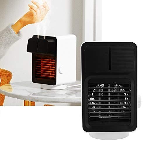 Tenpac Calentador de humidificador, con Calentador de Aire de lámpara de Ambiente, para Oficina en casa(Pink)