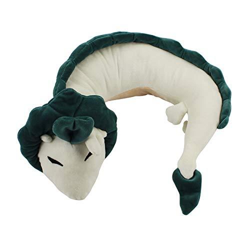 xunlei Dinosaurier plüschtier Anime Miyazaki Hayao Weißer Drache Haku Plüschtiere Reise Auto Nackenkissen U-Form Plüsch Gefüllte Kissen Puppe