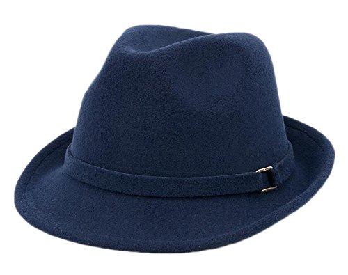 East Majik Fashion Retro Unisex Homburg Hat pour Vacances Vacances Voyage