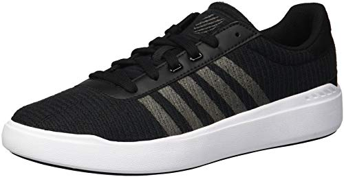 K-Swiss Herren Heritage Light T Turnschuh, Schwarz/Charcoal, 44 EU
