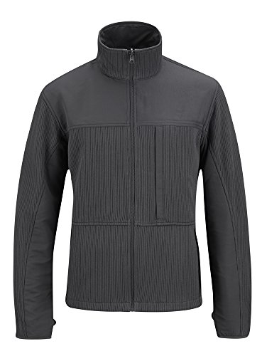 Propper Men's Full Zip Tech Sweater, Charcoal, X-Large Regular
