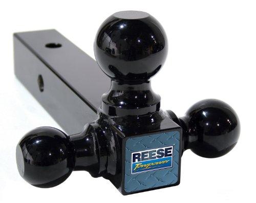 Reese Towpower 21512 Multiple-Ball Ball Mount,Black,Medium