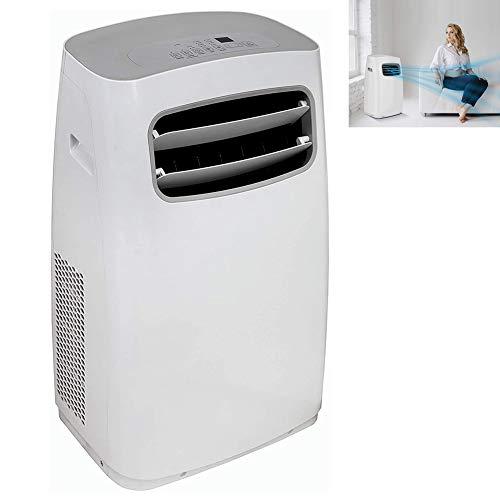 DNNAL Tragbare Klimaanlage, 3 in 1 Wi-Fi-Luftkühler, Fernbedienung Luftentfeuchter, mit Lüfterfunktion, LED-Anzeige, 3 Geschwindigkeiten Sleep Mode & 24H Timer