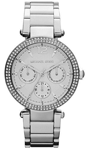 Michael Kors Uhr Damenuhr Armbanduhr MK (Silber / MK5779)