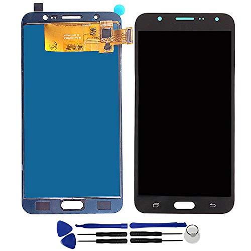 OYOG - Pantalla LCD de repuesto para Samsung Galaxy J7 2016 J710 J710F J710H J710FN (marco de bisel)