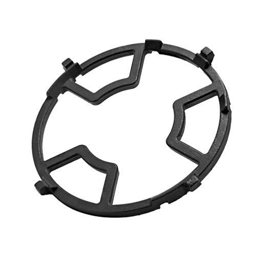 UPKOCH - Estufa de gas para cocina y wok - Soporte universal de hierro negro - Pequeño Wok - Sartén de cocina - Accesorios para estufa de gas para casa