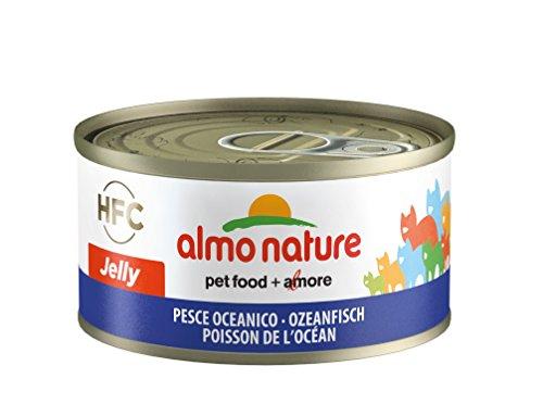 Almo Nature HFC Jelly Katzenfutter - Ozeanfisch 24x70 g