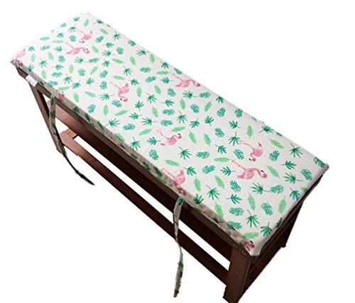 Cojín para banco de jardín, cojines para paletas, cojines de asiento, para interiores y exteriores, tatami, para patio y bancos de cocina, D, 87x28cm