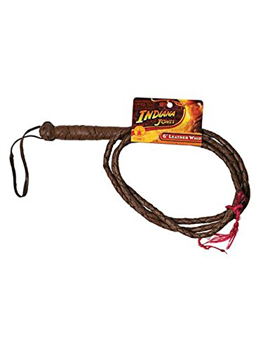 Indiana Jones 6-Foot Leather Costume Whip