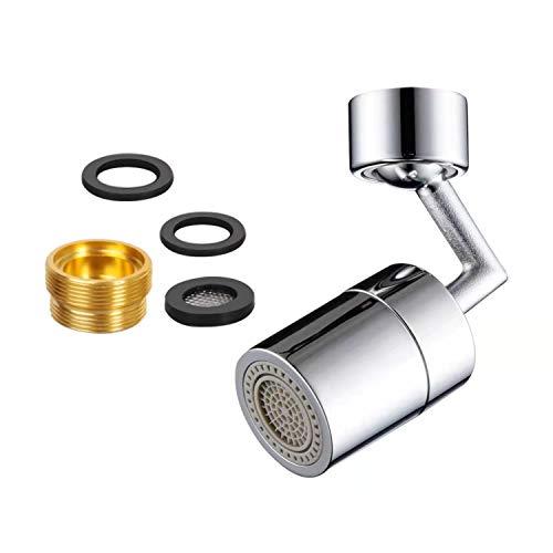 JZK 720 grados giratorio grifo aireador 22mm hilo interno grifo de baño móvil universal grifo de la cocina aireador para el hogar cocina baño