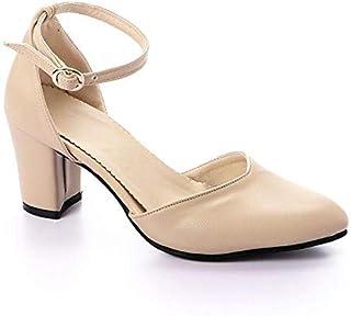 m.a Beige Heel For Women