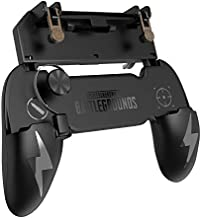 Shooting Games Mobile Controller, Durable Cellphone Triggers Game pad Sensitive Shoot and Aim Keys Joysticks for iPhone Android Smartphone