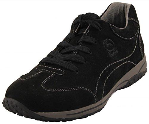 Gabor Comfort 06.385.47 Damen Schnürer/Halbschuhe (Sneaker) Leder Schwarz, EU 40.5