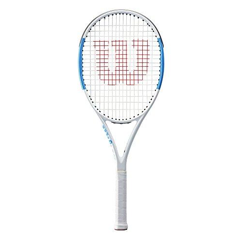 Wilson Damen/Herren-Tennisschläger, All Courter, Anfänger bis Profis, Ultra Team 100, Größe 2, blau/weiß, WRT73940U2