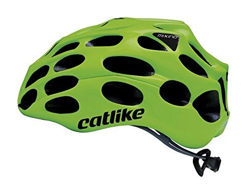 Catlike Mixino 2017 Casco de Ciclismo, Unisex Adulto, Verde (Fluor), S (52-54...