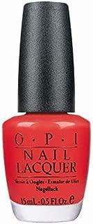 O.P.I Nail Lacquer, Cajun Shrimp, 15ml