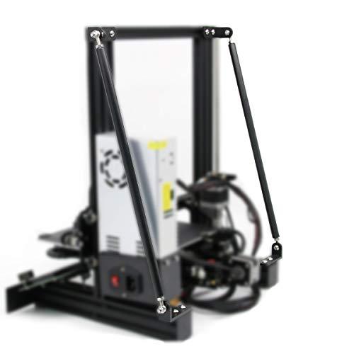 Set di aste di Supporto per Ender 3 / Ender-3 Pro / Ender 3 V2 Accessori Kit Tiranti Compatibili con la Serie di Stampa 3D 220X220X250 MM