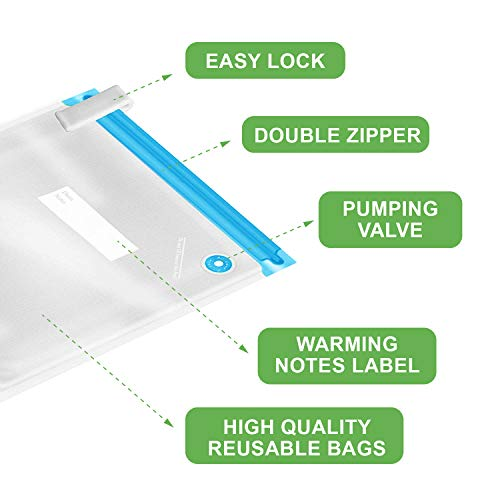 AsianiCandy 20 Reusable Vacuum Seal Bag Set