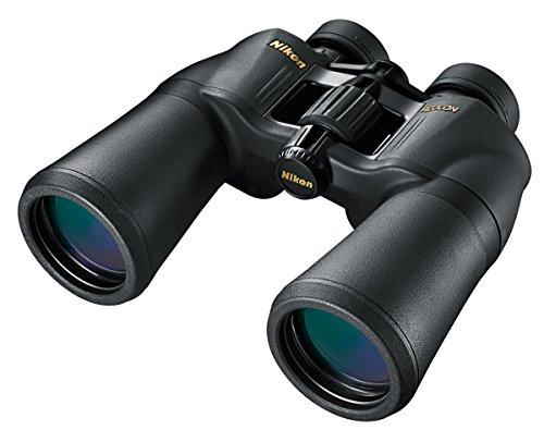 Nikon Aculon A211 12x50 12X50-Binoculares (ampliación 12x, Objetivo 50 mm), Color Negro