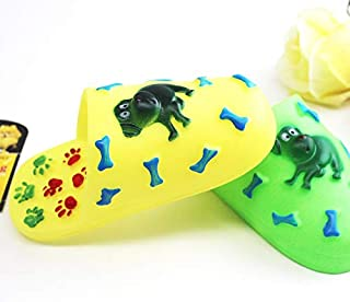 Toy Dog, Plastic Cute Cartoon Sneakers Dog Toy, Portable Dog Toys for Add Fun Healthy molars 3 (Color : 15 5X6 Cm)