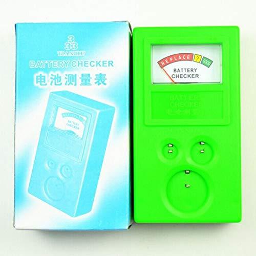 Sylvialuca Knopfzelle Checker Tragbare 1,5 V 3 V Knopfzelle Checker Batterie Tester Meter Tool für LR44 CR2032 CR2025