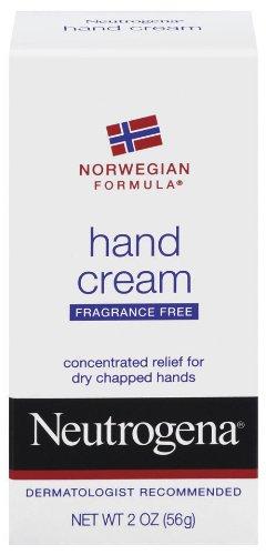 Neutrogena Norwegian Formula Hand Cream, Fragrance-Free, 2 Ounce (Pack of 4)