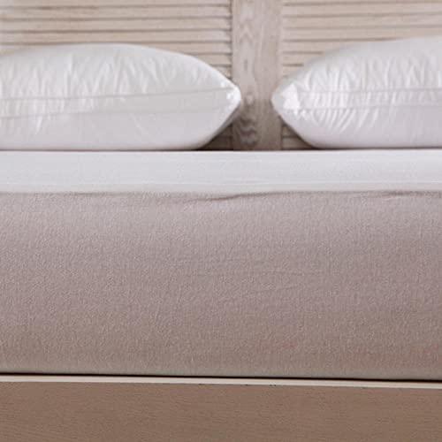 XGguo Funda colchón Microfibra, elástica y Ajustable, Sábana Impermeable a Prueba de orina Color sólido-180x200 + 45cm