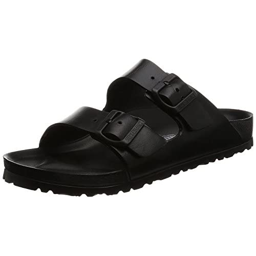 Birkenstock Arizona EVA, Zoccoli Unisex – Adulto, Nero (Black), 38 EU